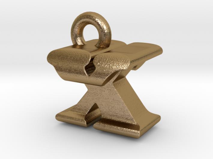 3D Monogram - XTF1 3d printed