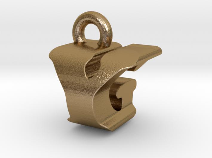 3D Monogram - YGF1 3d printed