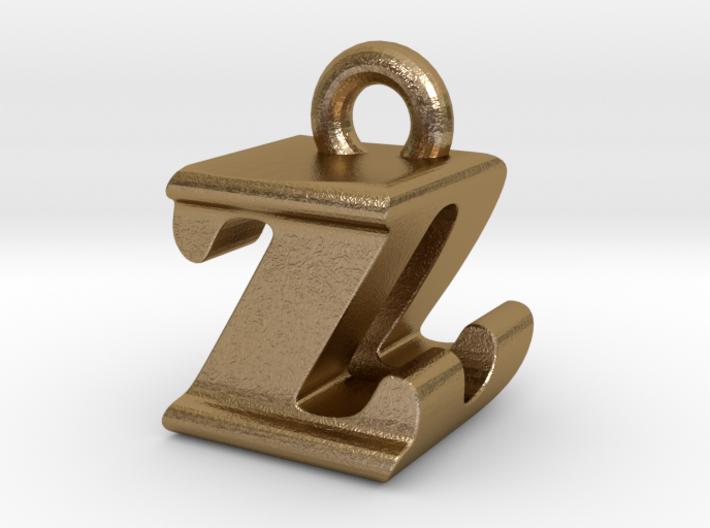 3D Monogram - ZDF1 3d printed