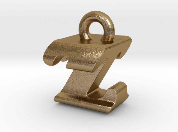 3D Monogram - ZTF1 3d printed