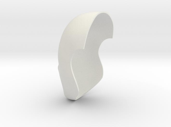 Faceshell-22.5cm 3d printed