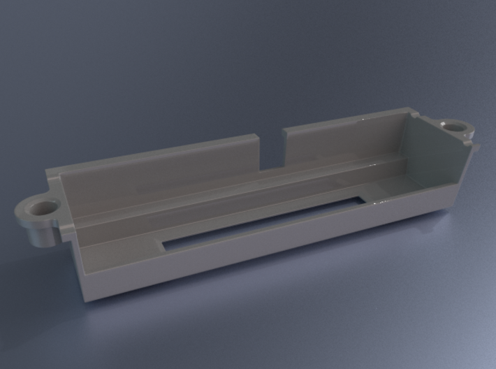 N64 Universal Cartridge Slot 3d printed 3D render using blender's cycles