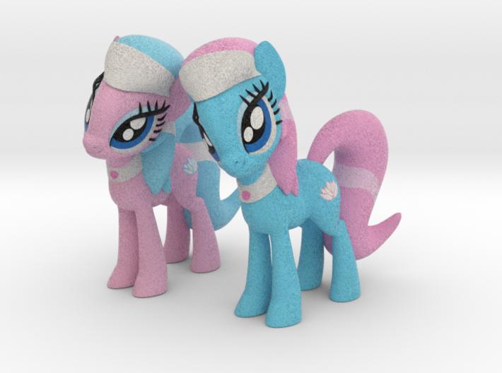 Spa Ponies 3d printed
