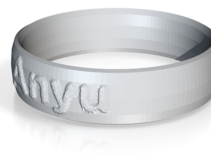 MOM Ring 3d printed