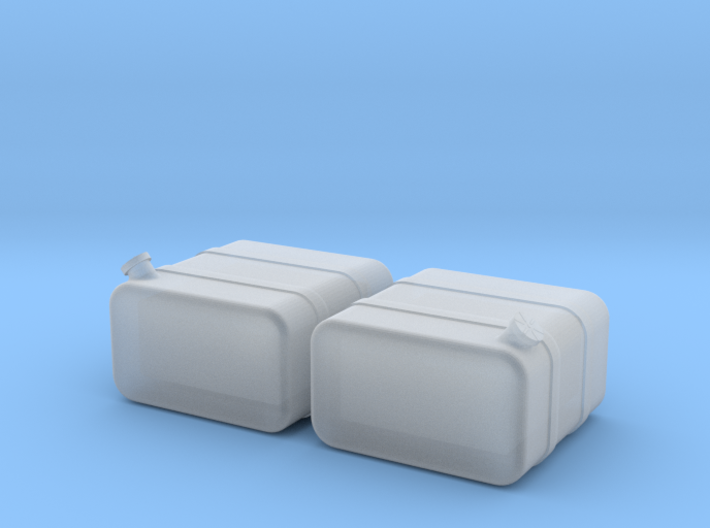 "1/64th Scale 24"" square fuel tanks 3d printed"
