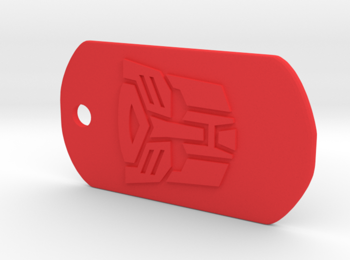 Autobot Dog Tag 3d printed