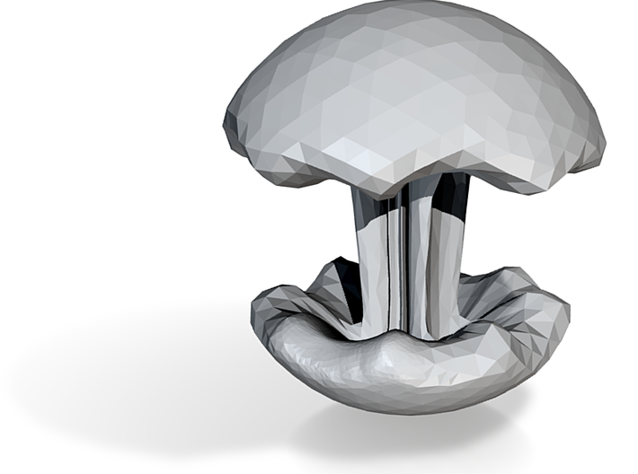 mushroom 3d printed