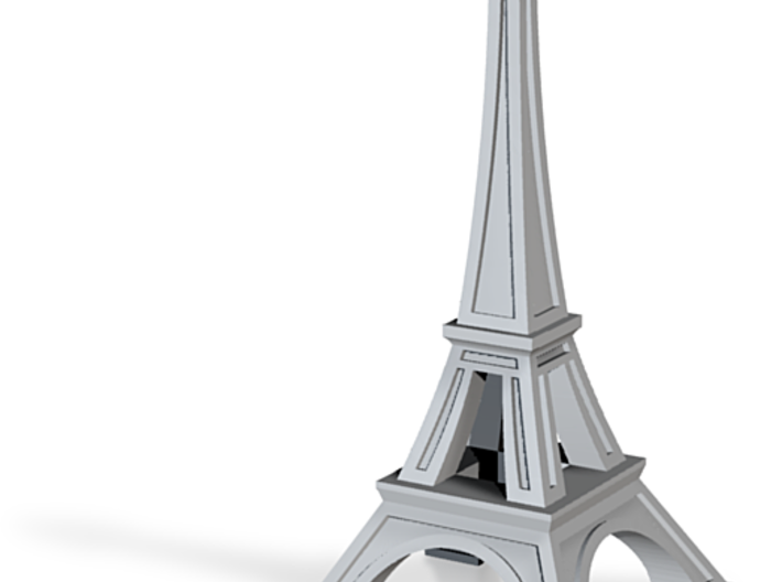 Tricolored Eiffel 3d printed