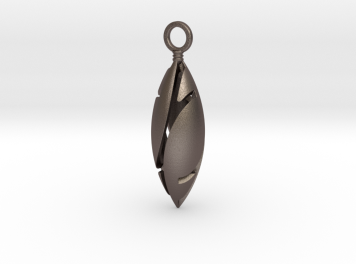 Elliptical  Pendant 3d printed