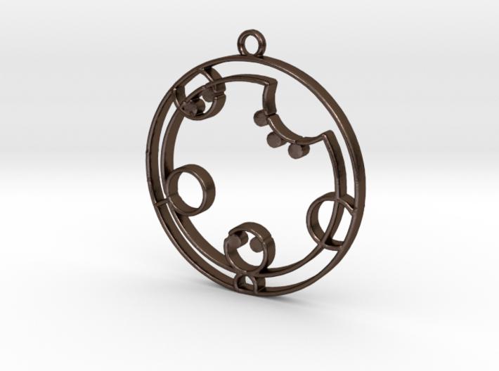 Cathryn / Kathryn - Necklace 3d printed