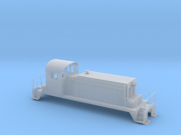 SW1 17 N Scale 3d printed