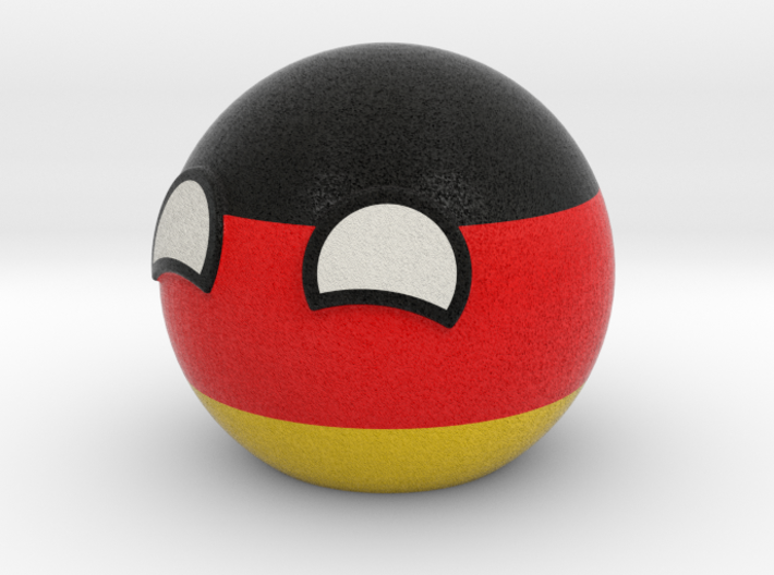 Germanyball 3d printed