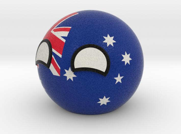 Australiaball 3d printed