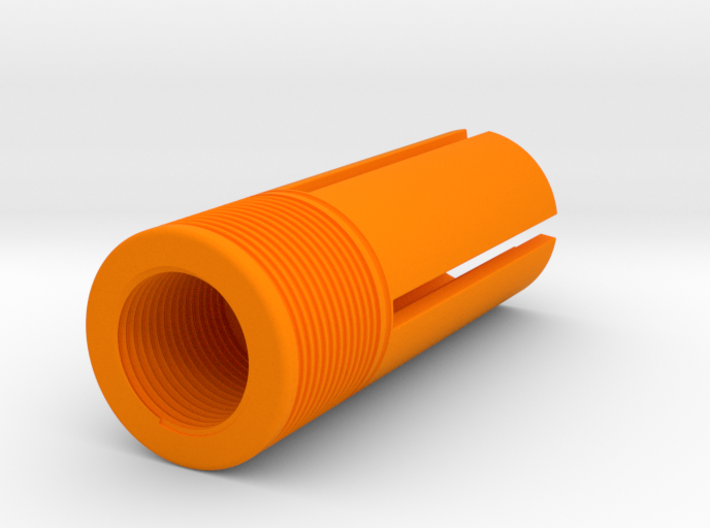 Orange Tip 55 mm Length 14mm Screw Diameter CCW 3d printed