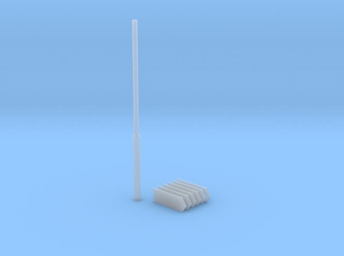 ANWB Wegwijzer (n-scale) 3d printed