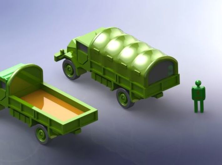 German Ford G 398 3to Truck 1/285 6mm 3d printed Add a caption...