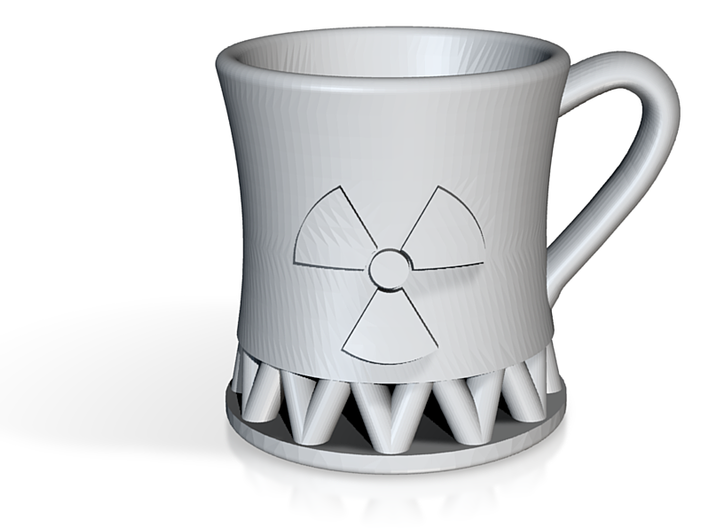 Nuclear Reactor Coffee Mug (Large) 3d printed