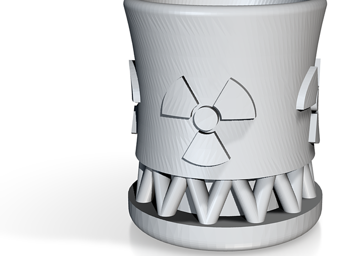 Nuclear Reactor Shot Glass 3d printed