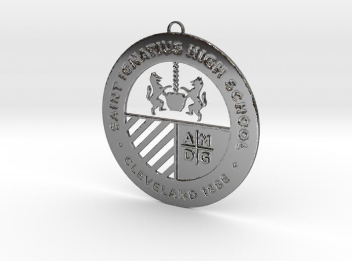 Saint Ignatius Logo Ornament 2014 3d printed