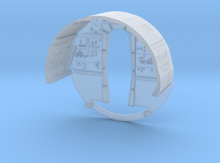YT1300 SMT CABIN WALLS 3d printed