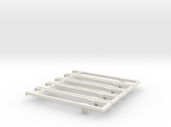 5 18' bed frame builder pack 3d printed