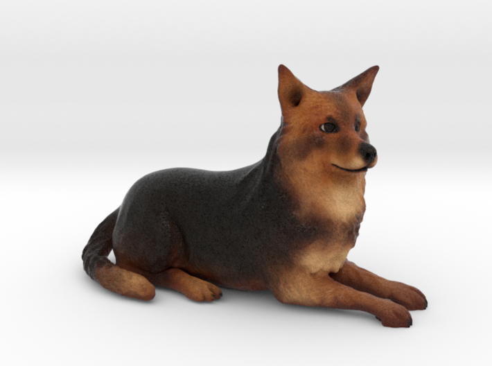 Custom Dog Figurine - Colleen 3d printed