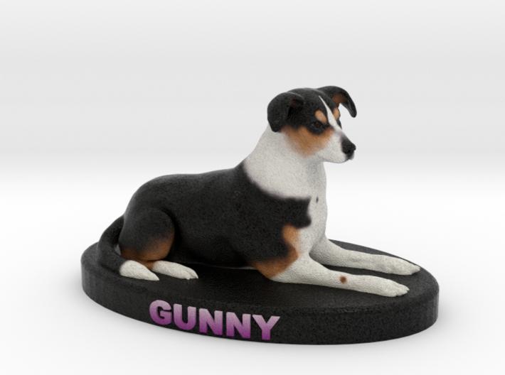 Custom Dog Figurine - Gunny 3d printed