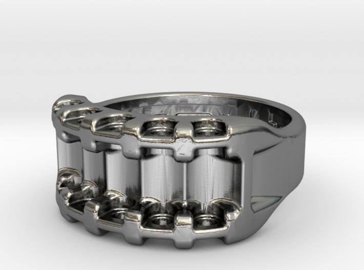 US8 Ring IX: Tritium 3d printed