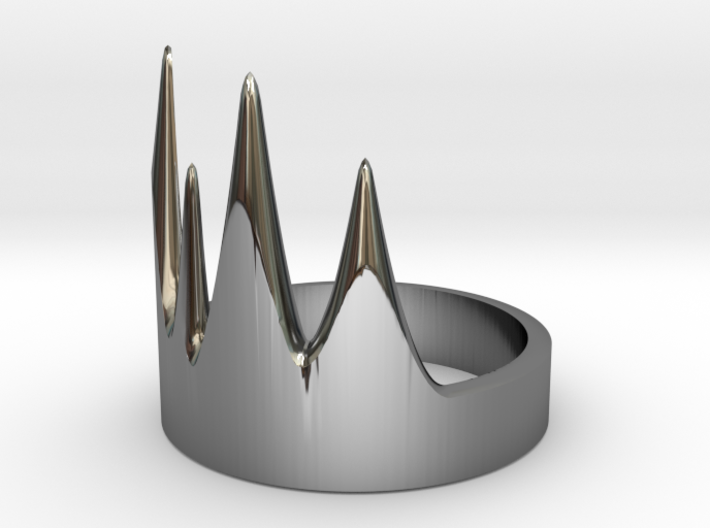 Thrombos Ring 3d printed