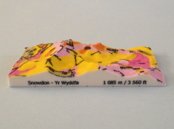Snowdon - Strata 3d printed Photoof Snowdon - Strata model