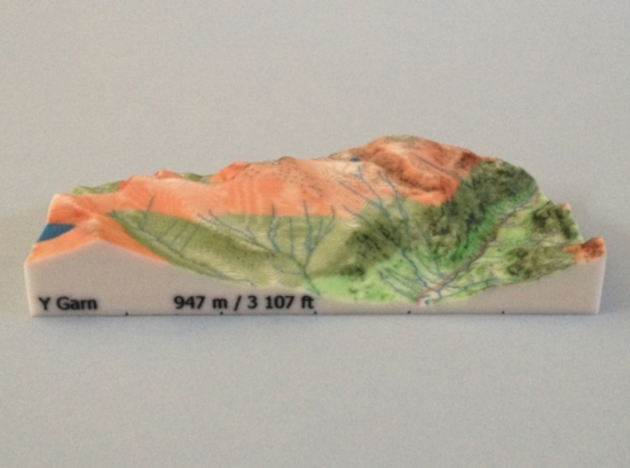 Y Garn - Relief 3d printed Photo  of Y Garn - Relief model