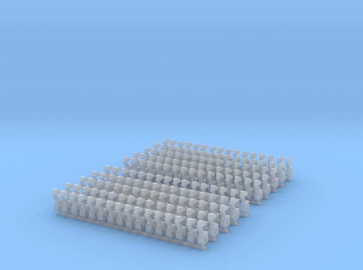 Kurze Kupplungen - 160 Stück 3d printed