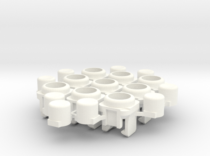 Micro arcade buttons 3d printed