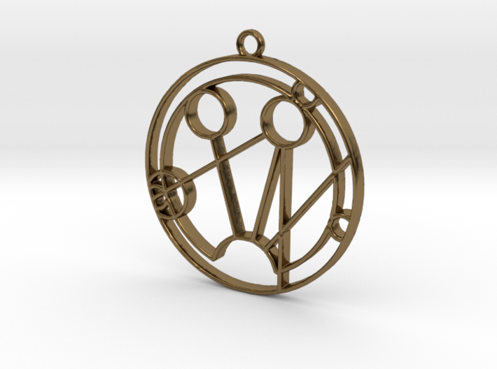 Samantha - Necklace 3d printed