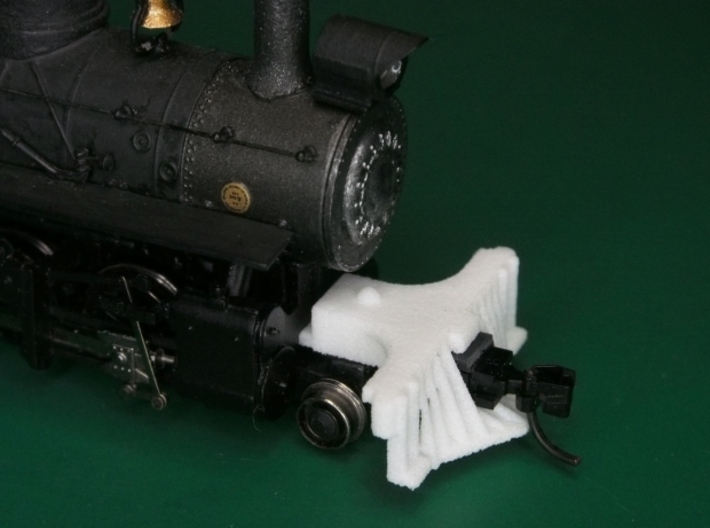 HOn30 road pilot for 2-8-0 steam loco 3d printed Add a caption...