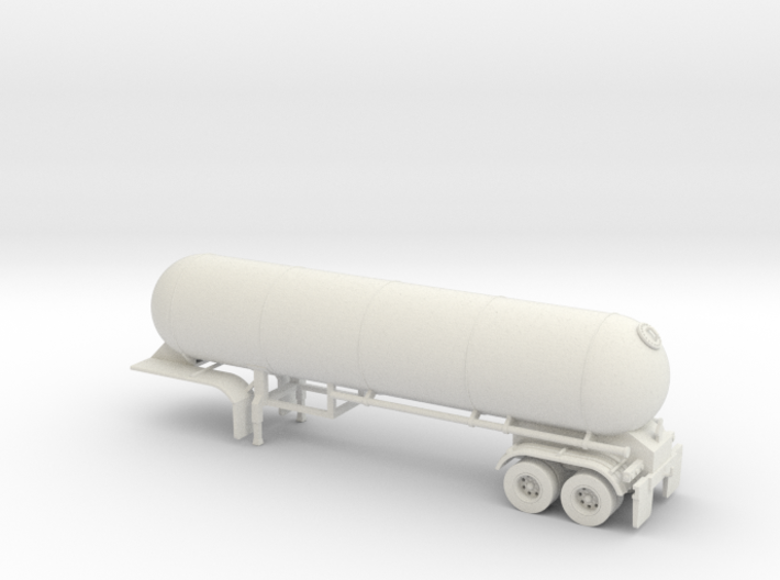HO 1/87 LPG 40' twin-axle tanker, trailer 15 3d printed