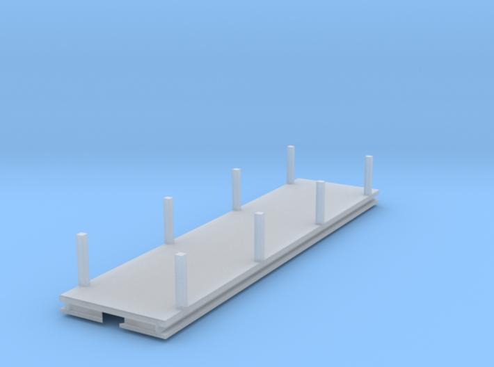 ZB Rollwagenaufsatz mit Rungen 3d printed