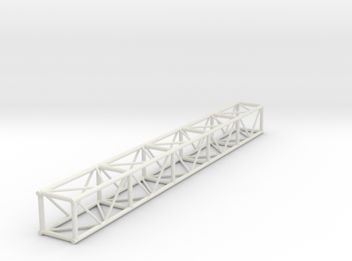 "1:24 10' 12""x12"" Box Truss 3d printed"