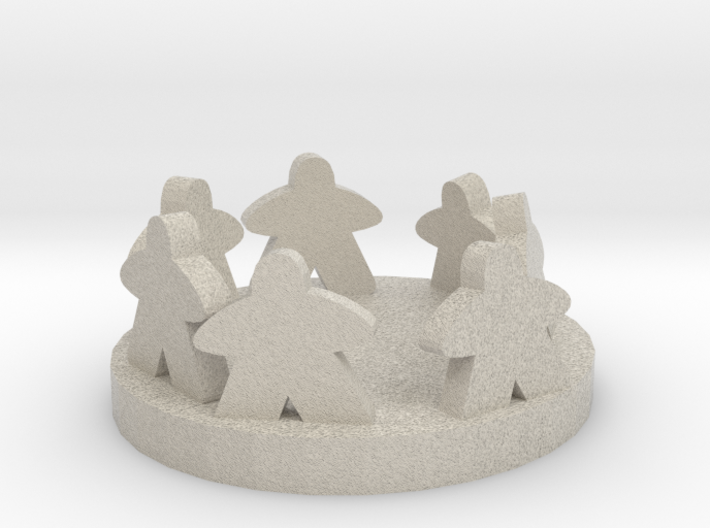 Circle Of Friends 3d printed