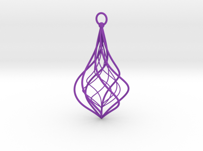 Christmas Tree Ornament (Bauble) - Duo 3d printed Christmas Tree Ornament