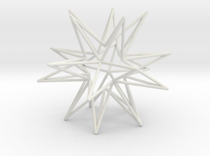 Icosahedron Star 3d printed