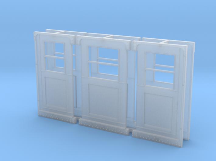 Baldie Original Style Doors 3d printed