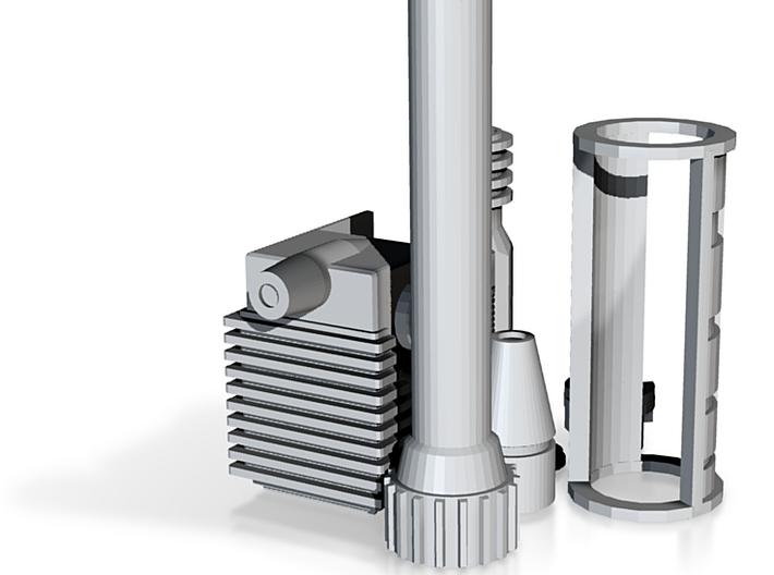 Star Wars nerf to blaster conversion Parts (Beta) 3d printed