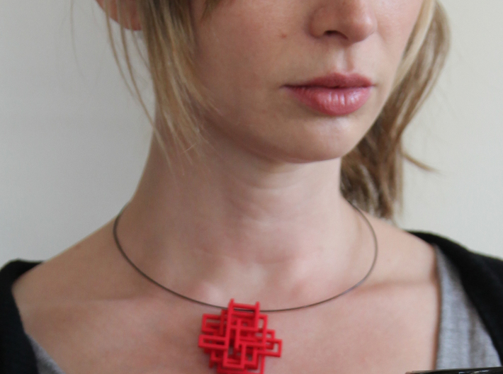 Squared Pendant 3d printed Add a caption...
