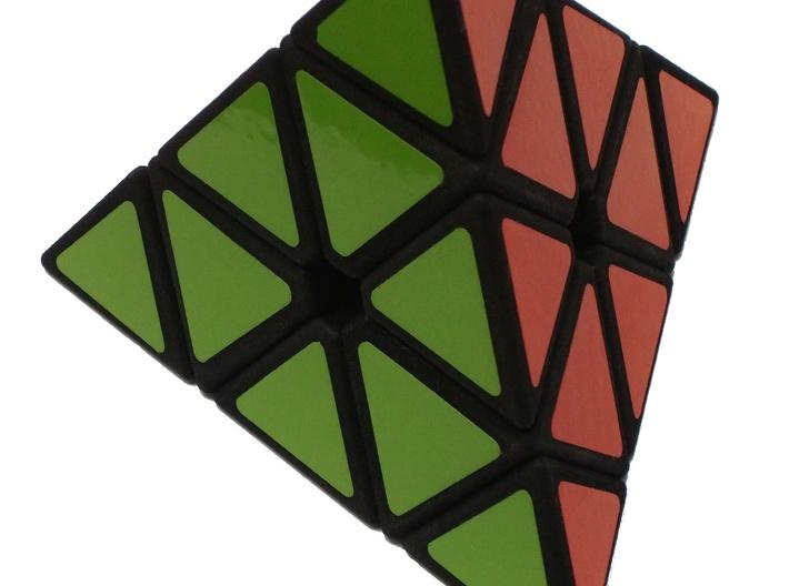 Pyraminx 3d printed