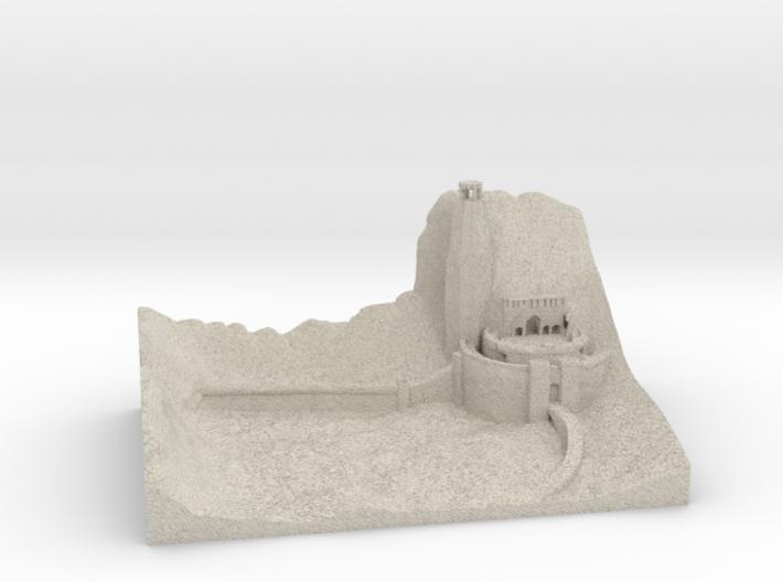 Helmsdeep 3d printed