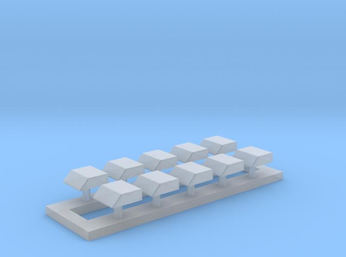 Ziegler Integro Blaulichtecke - Set of 10 3d printed