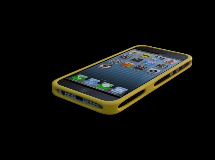 iphone 5 5s cover 3d printed Render