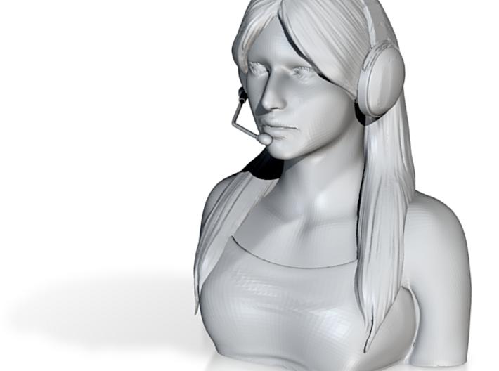 Female Pilot Figure 1/9 3d printed
