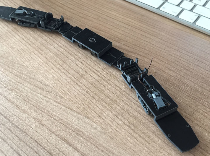 Fahrgestell GT6N / Chassis GT6N 3d printed